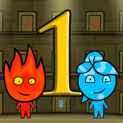 Fireboy and Watergirl 1 Forest Temple